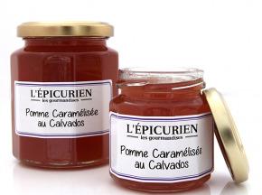 L'Epicurien - POMME CARAMELISEE AU CALVADOS