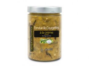 Conserves Guintrand - Fondue De Courgettes À La Crème Yr - Bocal 580ml