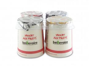 BEILLEVAIRE - Yaourts brassés aux fruits x4