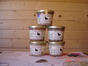 Les Délices du Scamandre - Terrine de Taureau Traditionnelle - 85g