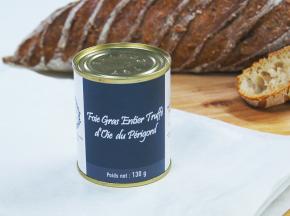 A la Truffe du Périgord - Foie Gras Entier Truffé D'oie Du Périgord 130g