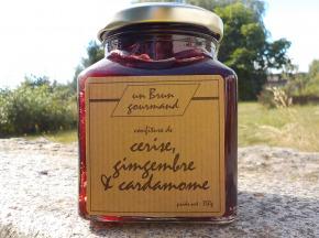 Un brun gourmand - Confiture De Cerise Gingembre Et Caradamome