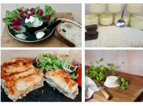 """Ferme du caroire - Panier Repas Complet """"les Pieds Sous La Table"""" : Entrée, Plat, Fromage Et Dessert(2 Personnes)"""