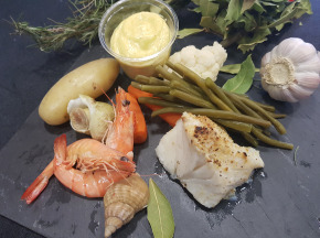 Poissonnerie Le Marlin - Aïoli Complet De Provence