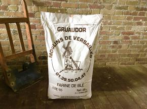 Moulins de Versailles - Farine Gruaudor T55 - 25 Kg