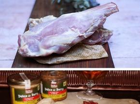 Ferme du caroire - Offre Pâques : Gigot et Filet de Chevreau 1,5 kg + pâté offert