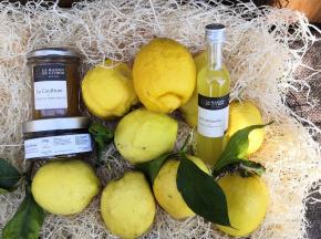 La Maison du Citron - Panier Découverte Citron De Menton Igp