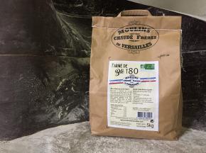 Moulins de Versailles - Farine De Blé Bio T80 / Bise - 5kg