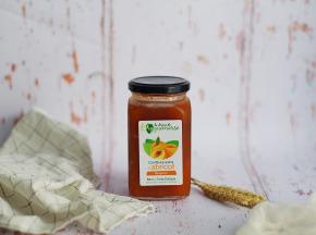 La Ferme de l'Ayguemarse - Confiture d'abricot Bergeron