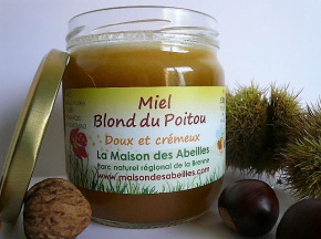 La Maison des Abeilles - Miel Blond Du Poitou doux et crémeux