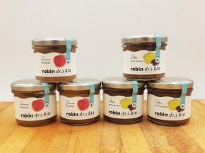 Robin des Bio - Petit pot bébé Bio et Locaux - 3x Pomme Pruneaux - 3x Pomme (dès 4 mois)
