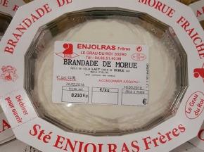 Poissonnerie Le Marlin - Brandade De Morue