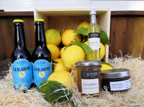La Maison du Citron - Panier Gourmand Citron De Menton Igp Bio