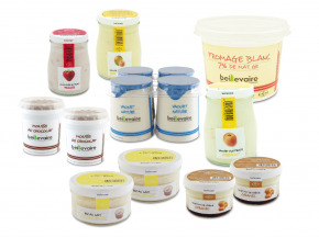 BEILLEVAIRE - Panier de la Ferme  Lait - Desserts 2