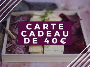 Pourdebon - Carte Cadeau 40 €