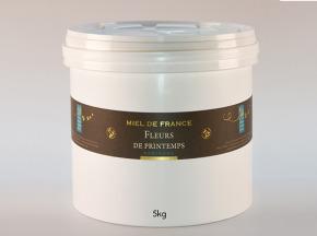 Domaine Apicole du Pillardon - Miel de France Fleurs de Printemps n°1 Récolte 2019 - 5 kg