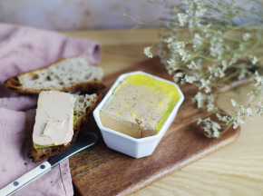 Ferme Caussanel - Foie Gras De Canard Entier Mi-cuit 510 g