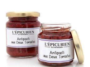 L'Epicurien - ANTIPASTI AUX DEUX TOMATES
