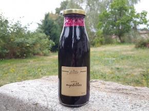 Un brun gourmand - Coulis De Myrtilles - 50cl