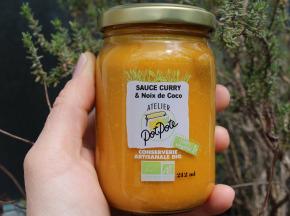 Atelier PotPote - Conserverie Artisanale Bio - Sauce Noix De Coco & Curry Bio