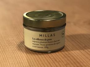 Maison Millas - Terrine De Rillettes De Porc - 180g