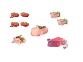 Nature et Régions - Colis Mixte Famille Veau, Porc, Bœuf