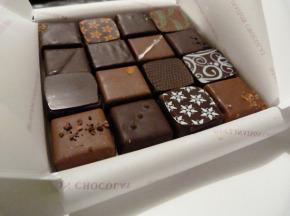 Déclinaison Chocolat - Coffret Dégustation 16 Chocolats