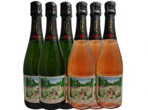 Champagne J. Martin et Fille - Cuvée Des Amoureux De Peynet Tradition Et Rosé