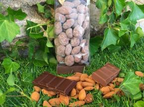 Totale Gourmandise - Mélange D'amandes Et De Noisettes Caramélisées Enrobées De Chocolat Lait