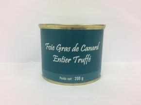 A la Truffe du Périgord - Foie Gras De Canard Entier Truffé  200g