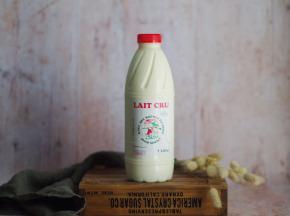 Ferme Chambon - Lait Cru entier de Vache 1 litre