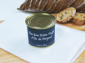 A la Truffe du Périgord - Foie Gras Entier Truffé D'oie Du Périgord 200g
