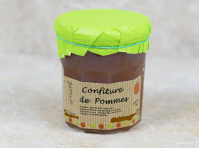 Valentin Grain - Fruits et légumes Conversion Bio - Confiture De Pommes - 180g