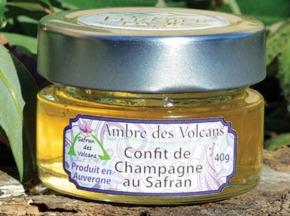 Safran des Volcans - Confit de Champagne au Safran 100g