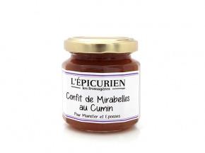 L'Epicurien - CONFIT DE MIRABELLES AU CUMIN - munster ou époisses