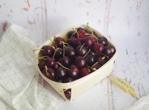 La Ferme de l'Ayguemarse - Cerises de la Drôme Provençale 1 kg