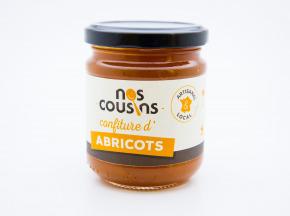 Nos cousins Conserverie - Confiture D'abricots 240g