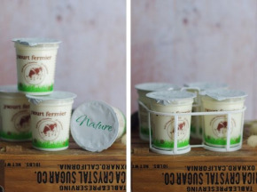 Ferme Chambon - Yaourts au Lait Cru de Vache Natures x8