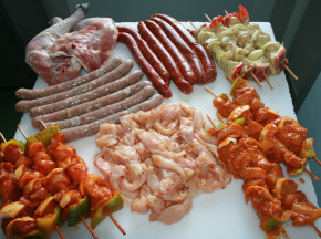 Le Jardin des Gallines - Colis Barbecue Volaille - 4kg