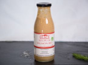 Olsen - Soupe de saumon bio - 470g