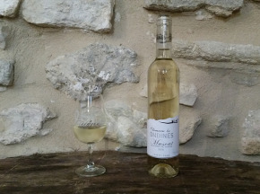 """Domaine """"Les Ondines"""" - Muscat De Beaumes Blanc """"cuvée Les Ondines"""" 2015 - 1 Bouteille"""