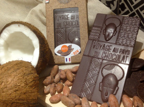 Le Petit Atelier - Tablette Chocolat Cru 85% Origine Pérou Au Sucre De Coco