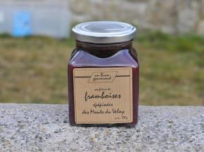 Un brun gourmand - Confiture De Framboise Épépinée Des Monts Du Velay