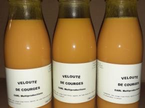 Multiproductions - Cédric Joliveau - Velouté de Courges : 3 bouteilles d'un litre