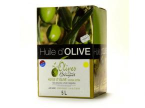 Les amandes et olives du Mont Bouquet - Huile d'olive Négrette 5 L
