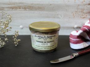 Les Délices du Scamandre - Terrine de Taureau aux Olives Vertes - 85g