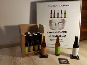 Brasseurs Anonymes - Colis Caractère - 12 Bouteilles