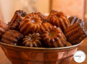 Les Cannelés d'Audrey - Cannelés Traditionnels - 4 Pièces - Sans gluten