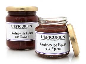 L'Epicurien - CHUTNEY AUX FIGUES ET AUX EPICES