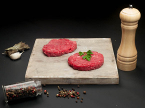 Nature et Régions - Steaks à Burger de Bœuf Charolais Bio - 2x130g